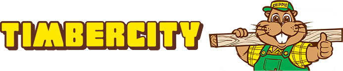Timbercity Logo with Chippie The Beaver